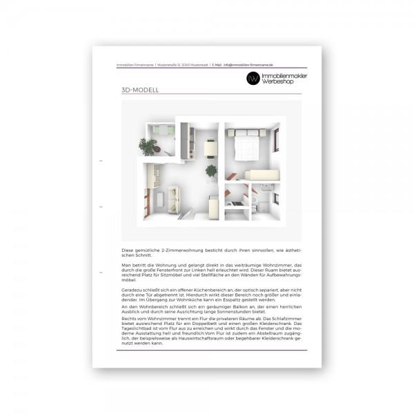 Texterstellung für Exposé | Objekt- u. Lagebeschreibung